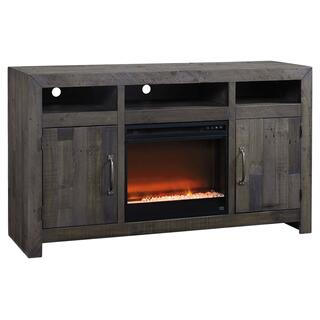 See Details - Mayflyn Large TV Stand With Fireplace