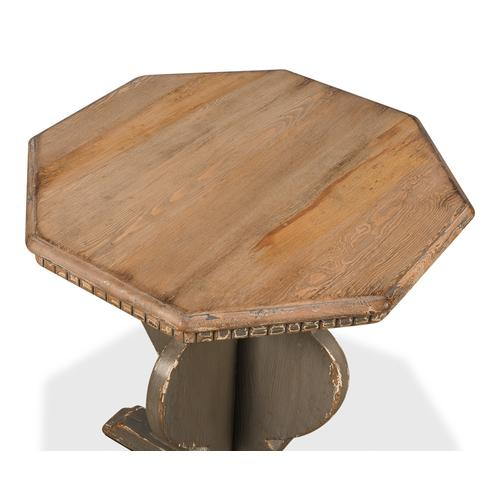 Brogan Side Table, Old Pine Finish