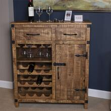 Wine Accent Cabinet