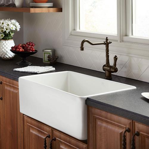 Dxv - Hillside 30 Inch Apron Kitchen Sink - Canvas White
