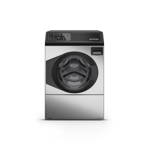 Speed Queen - FF7 Stainless Steel Front Load Washer with Sanitize  5-Year Warranty