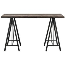 See Details - Troy Console - Dark Brown