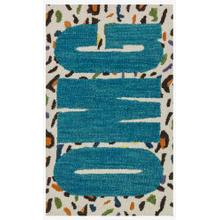 View Product - Hsk08 Cheetah / Blue Rug