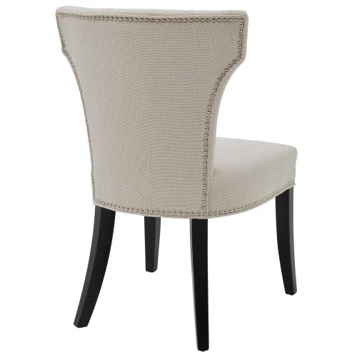 Dresden Fabric Dining Side Chair, Cardiff Cream