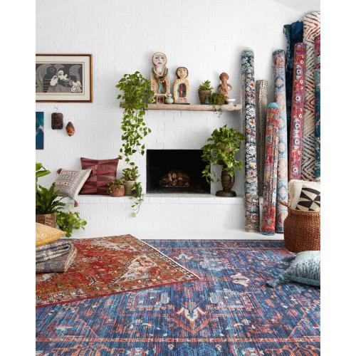 CIE-04 Blue / Multi Rug