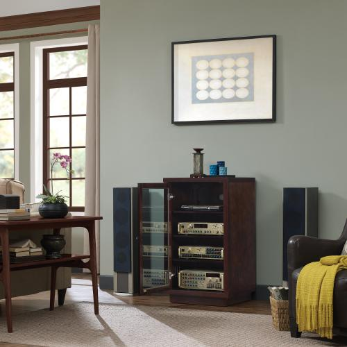 Stereo Cabinet with Adjustable Shelves