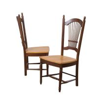 "DLU-C07-NLO-2  42"" Allenridge Dining Chair  Nutmeg Light Oak  Set of 2"