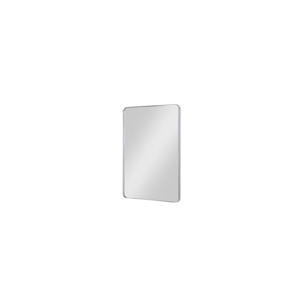 "Reflections 24"" Metal Frame Mirror - Polished Chrome"