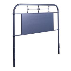 Liberty Furniture Industries - Queen Metal Headboard - Navy
