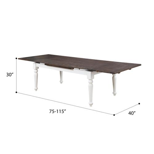 Emerald Home Furnishings - Dining Table W/2 Leaves