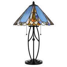 See Details - 60W X 2 Tiffany Table Lamp