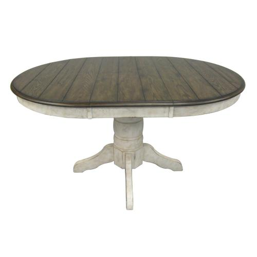 Vintage Estates Pedestal w/ Butterfly Leaf Dining Table