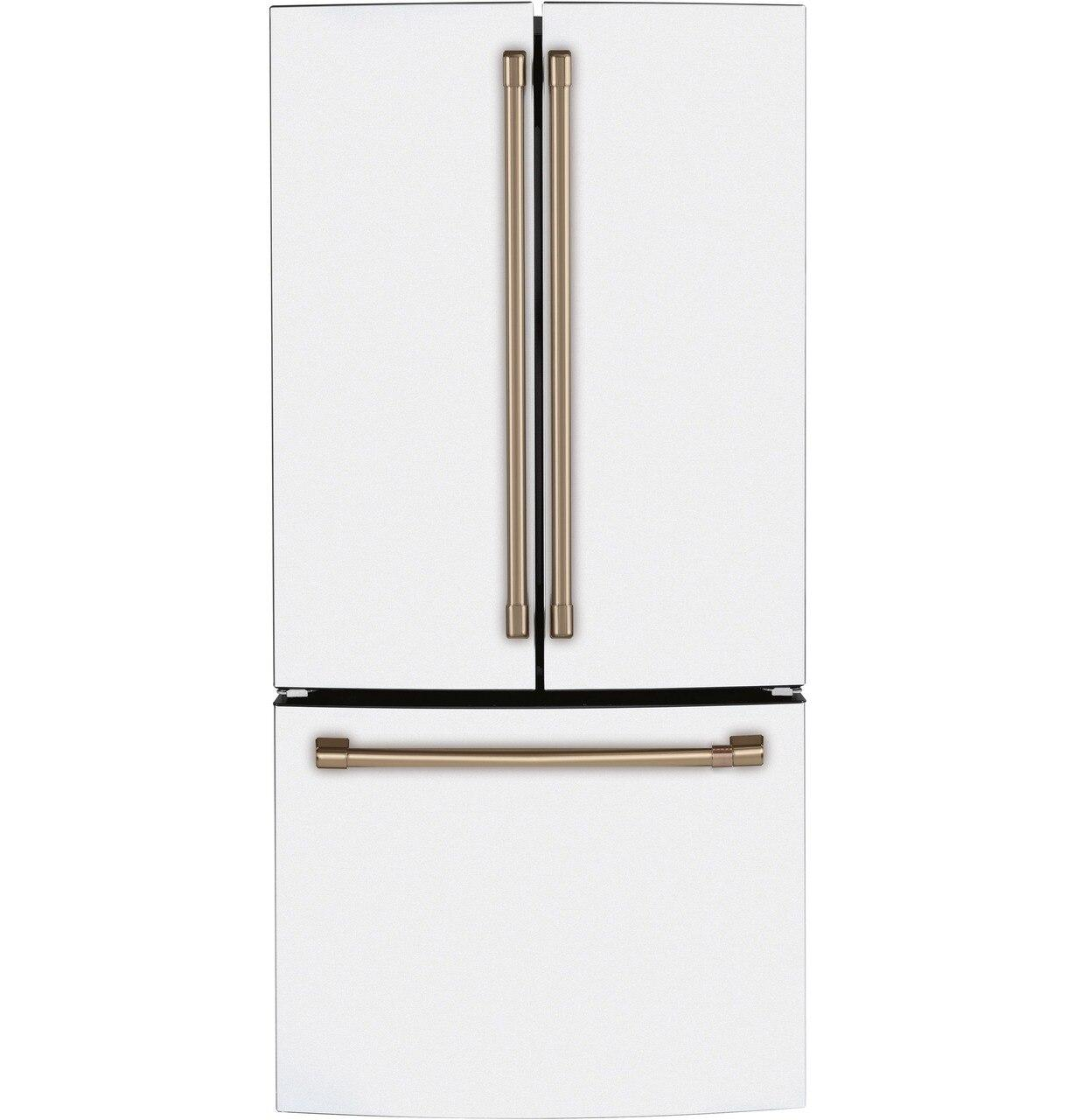 CafeEnergy Star® 18.6 Cu. Ft. Counter-Depth French-Door Refrigerator
