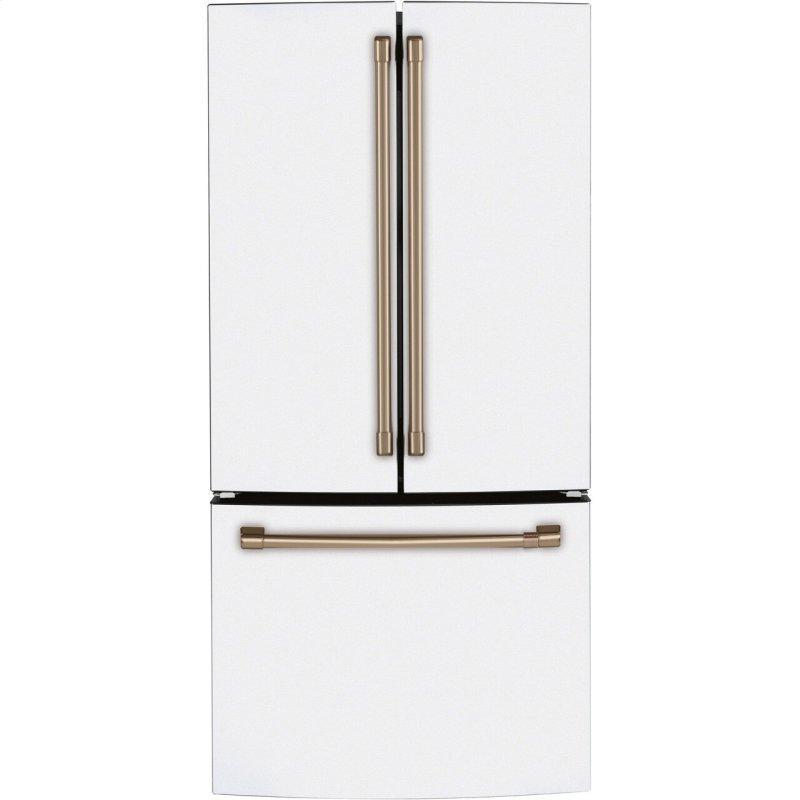 Cafe™ ENERGY STAR® 18.6 Cu. Ft. Counter-Depth French-Door Refrigerator