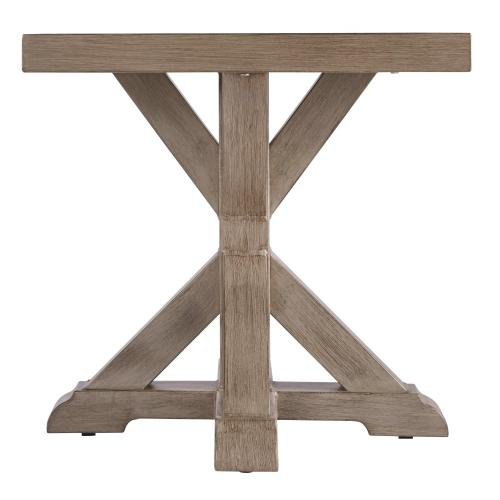 Beachcroft Square End Table Beige