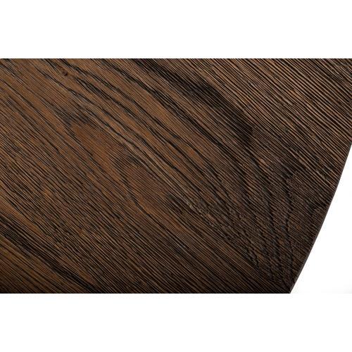 Modrest Renzo Modern Oak & Concrete Console Table