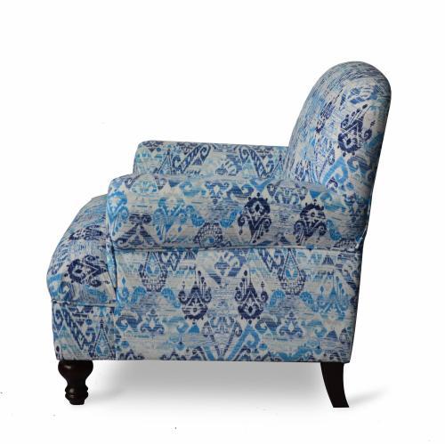 Dara Accent Chair - Aqua