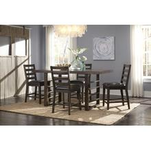 5 PC Summerlin Counter Height Trestle Dining Table Set