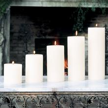 Pillar Candle-Unscented-4 x 4