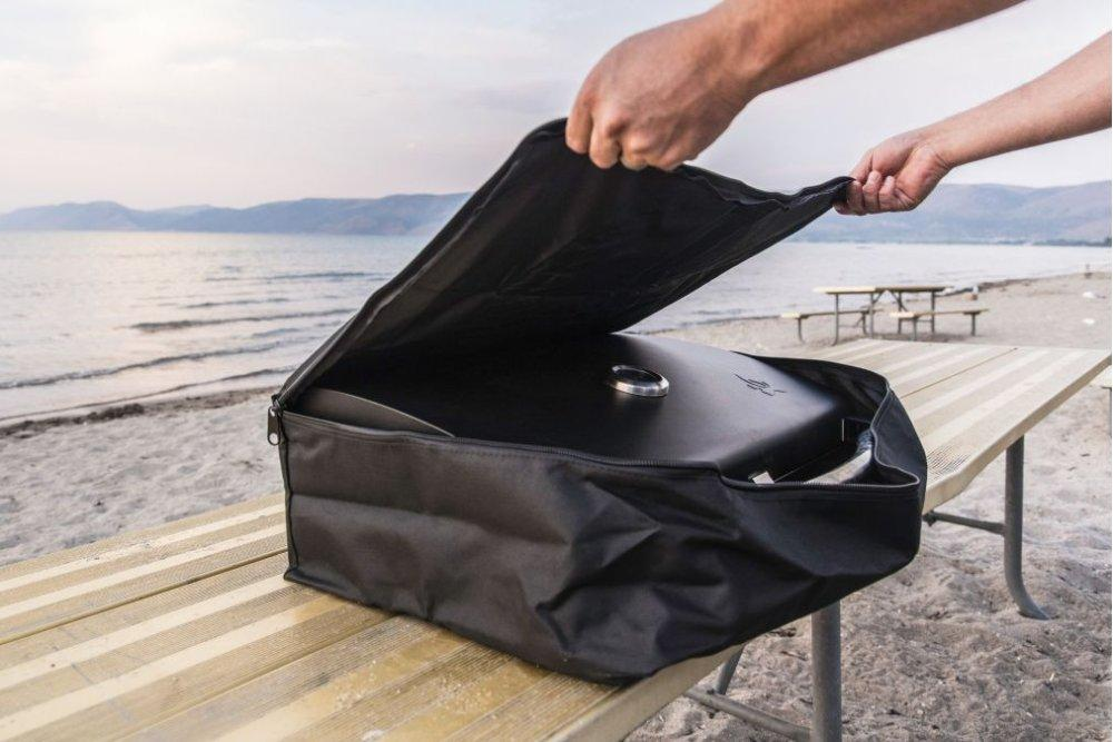 Camp Chef Carry Bag Cover Weather Protector For Barbecue Sport Grill Box BB90L