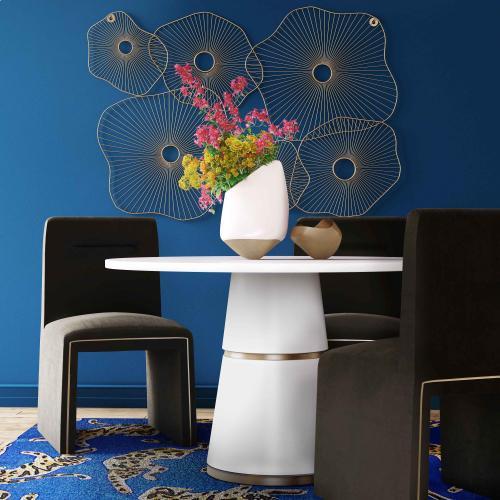 Tov Furniture - Jaffa Black Performance Velvet Dining Chair