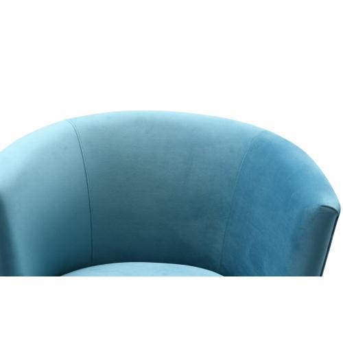 Noah Lake Blue Swivel Chair