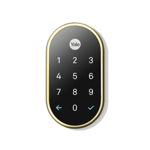 Nest X Yale Lock (Nest Connect Required for Remote Access) Polished Brass