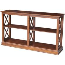 Hampton Long Sofa Table in Espresso