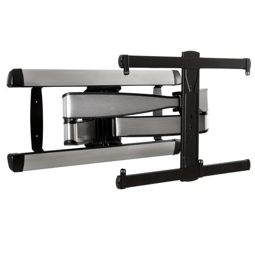 "Silver Full Motion TV Wall Mount for 42""-90"" TVs"