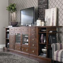 Small Spaces Entertainment Console Wall