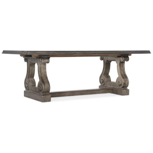 Woodlands Rectangle Dining Table w/ 2-22in Leaves