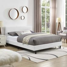 Anya Queen Bed in White