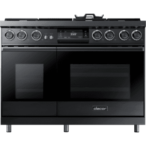 "Dacor48"" Pro Dual-Fuel Steam Range, Graphite Stainless Steel, Liquid Propane/High Altitude"