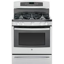 "GE Profile™ Series 30"" Free-Standing Self Clean Gas Range with Warming Drawer"