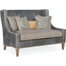 View Product - Bradington Young Lavendar Settee 8-Way Hand Tie w/Single Bench Cushion 693-85