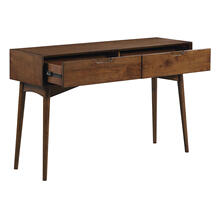 Copenhagen Console Table In Walnut Finish