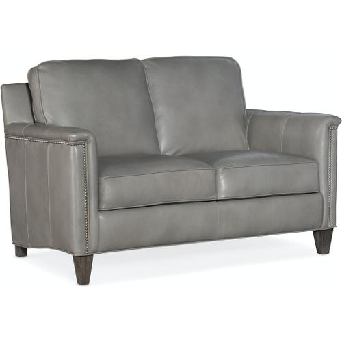 Bradington Young Davidson Stationary Loveseat 8-Way Hand Tie 534-75