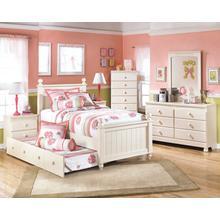 See Details - Cottage Retreat - Cream Cottage 6 Piece Bedroom Set