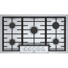 See Details - 800 Series Gas Cooktop 36'' Stainless steel NGM8656UC