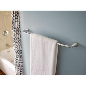 "Glyde chrome 24"" towel bar"