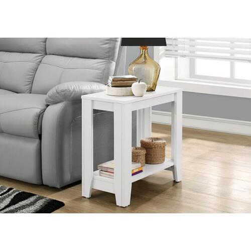 ACCENT TABLE - WHITE