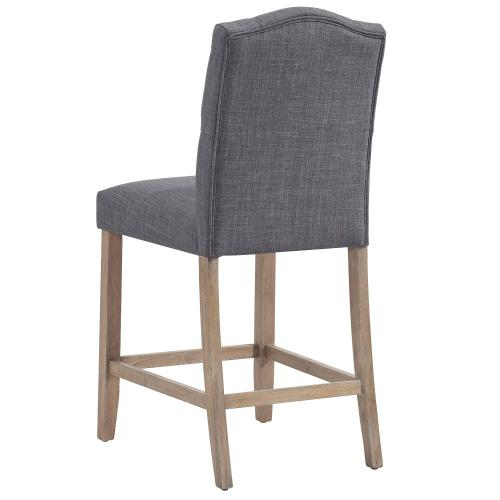 Lucian 26'' Counter Stool, set of 2 in Grey
