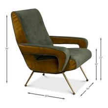 Danish Organic Lounge Chair