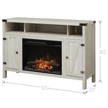 See Details - Dimplex Sadie Media Console Electric Fireplace With Logs