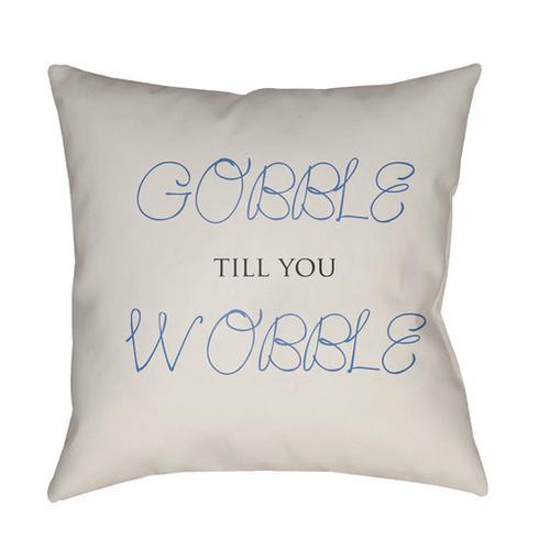 "Gobble Till You Wobble GOBBLE-005 20"" x 20"""
