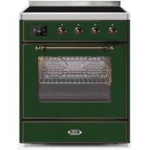 30 Inch Emerald Green Electric Freestanding Range