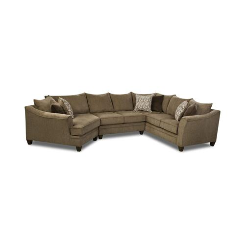 6485 Three Piece Sectional