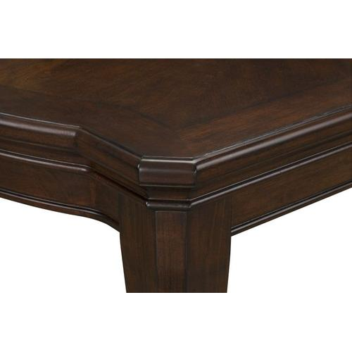 """Gallery - Wellsville Dining Table with 20"""" Leaf, Cherry Brown"""