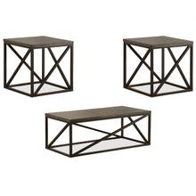 7325 Cocktail and End Table Set