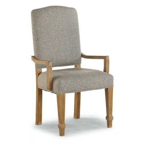 Tahoe Upholstered Arm Dining Chair